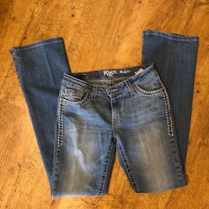 Rock 47 (Wrangler) Boot Cut Jeans